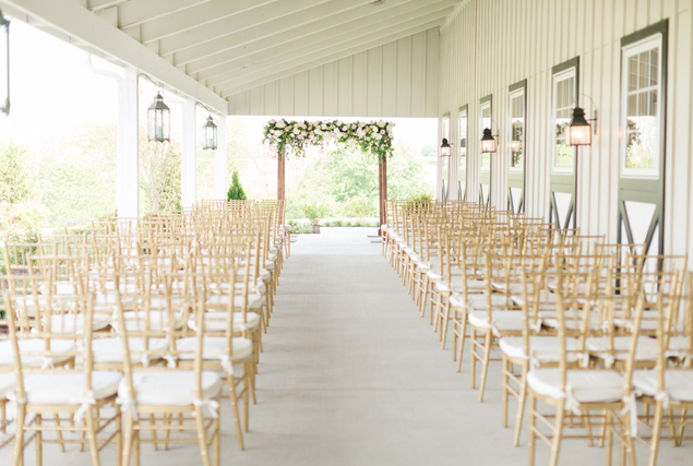 Outdoor Wedding Ceremony in Loudoun County