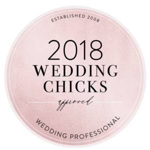 2018 Wedding Chicks Badge Shadow Creek