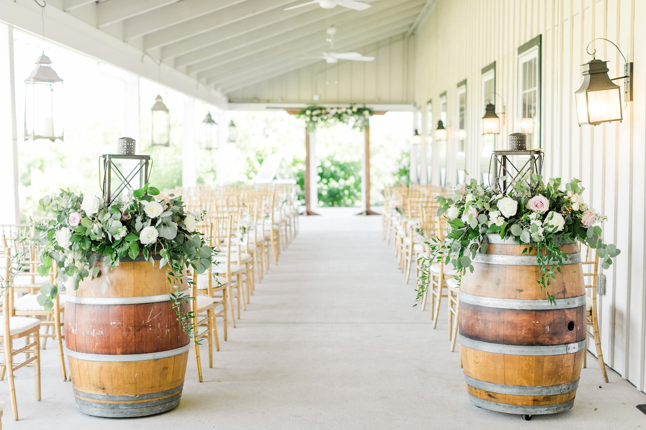 indoor virginia barn wedding venues