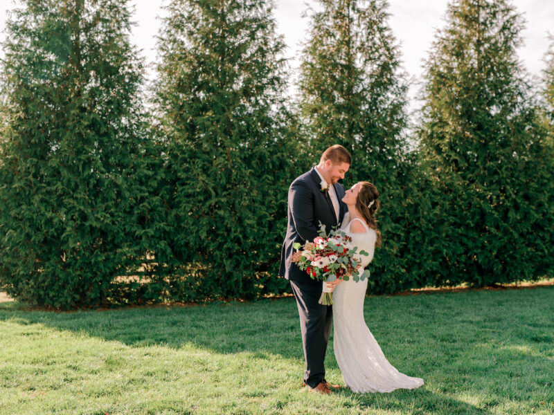 bride and groom photo at Shadow Creek